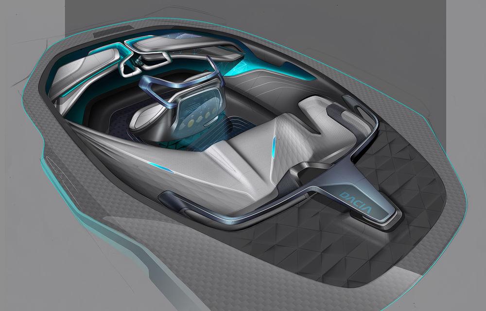 Dacia EF-Vision 2050: un concept Dacia pentru un viitor ultra-tehnologizat, dar fidel caracterului accesibil - Poza 11