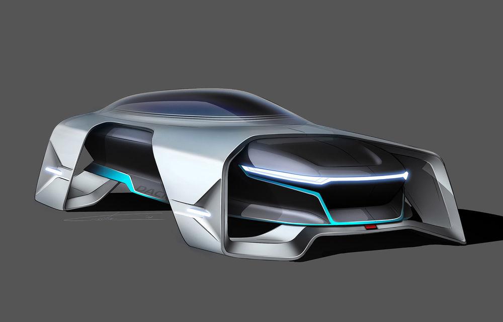 Dacia EF-Vision 2050: un concept Dacia pentru un viitor ultra-tehnologizat, dar fidel caracterului accesibil - Poza 7