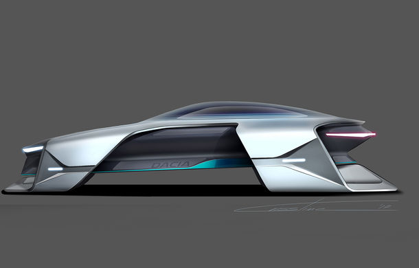 Dacia EF-Vision 2050: un concept Dacia pentru un viitor ultra-tehnologizat, dar fidel caracterului accesibil - Poza 8