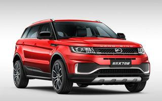 Anii trec, asemănările rămân: copia chineză a lui Range Rover Evoque a primit facelift