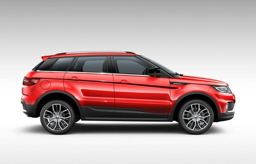 Anii trec, asemănările rămân: copia chineză a lui Range Rover Evoque a primit facelift - Poza 4