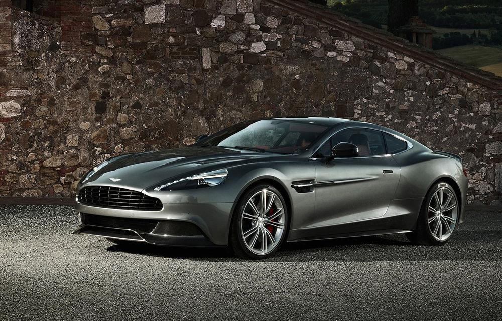 """Aston Martin confirmă că noua generație Vanquish va fi dezvăluită în 2018: """"Vrem să ne luptăm cu Ferrari 812 Superfast!"""" - Poza 1"""