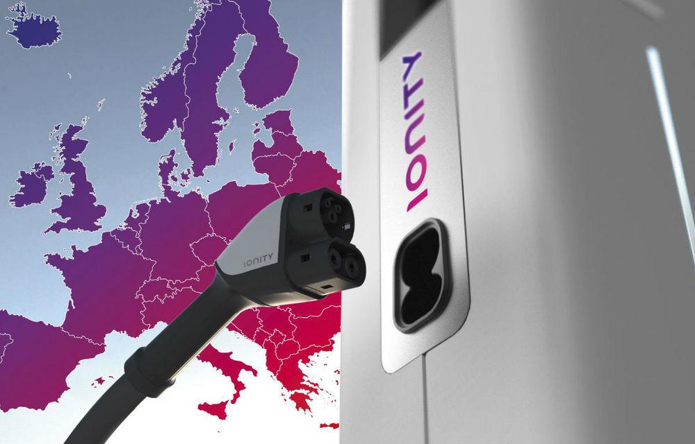 Proiectul Ionity: BMW, Daimler, Ford și Volkswagen vor să construiască o rețea europeană de stații pentru încărcarea mașinilor electrice - Poza 1