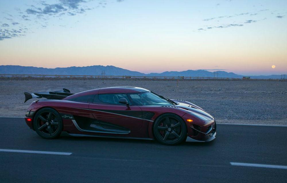 Cea mai rapidă mașină de serie din lume: Koenigsegg Agera RS a atins viteza de 447 km/h și așteaptă replica lui Bugatti Chiron - Poza 1