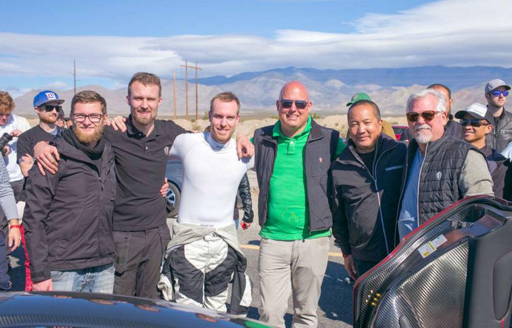 Cea mai rapidă mașină de serie din lume: Koenigsegg Agera RS a atins viteza de 447 km/h și așteaptă replica lui Bugatti Chiron - Poza 3