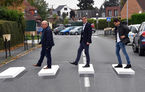 Trecere de pietoni 3D: soluție inedită pentru ca șoferii să încetinească și să acorde prioritate