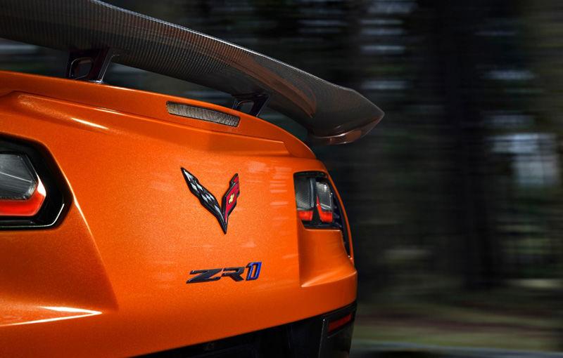 Chevrolet lansează noul Corvette ZR1: 755 de cai putere și o viteză maximă de peste 338 km/h - Poza 10