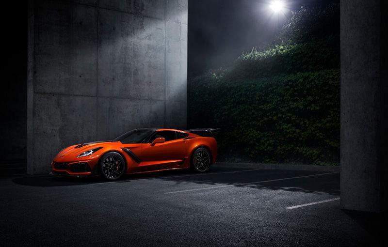 Chevrolet lansează noul Corvette ZR1: 755 de cai putere și o viteză maximă de peste 338 km/h - Poza 9