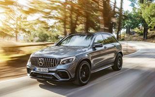 Mercedes-AMG GLC 63 și AMG GLC 63  Coupe pot fi comandate și în România: prețurile pornesc de la 83.000 de euro cu TVA