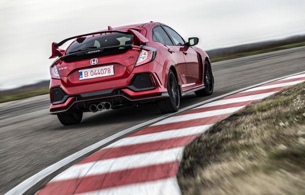 Prim contact cu modelele hardcore din gama Honda: pe circuit cu noul Civic Type R și cu supercar-ul NSX - Poza 4