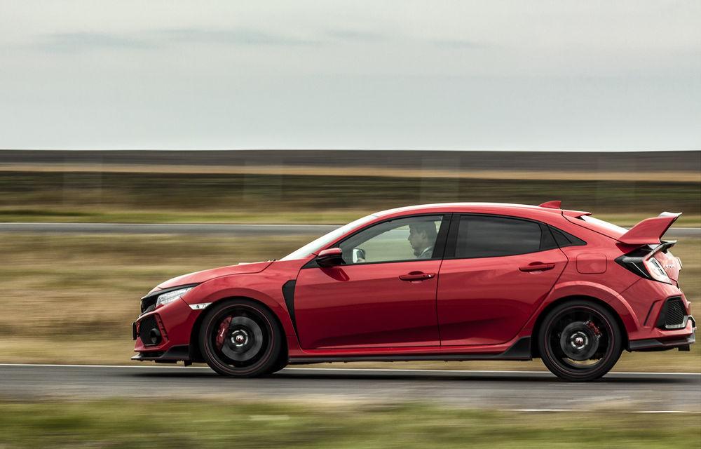 Prim contact cu modelele hardcore din gama Honda: pe circuit cu noul Civic Type R și cu supercar-ul NSX - Poza 7