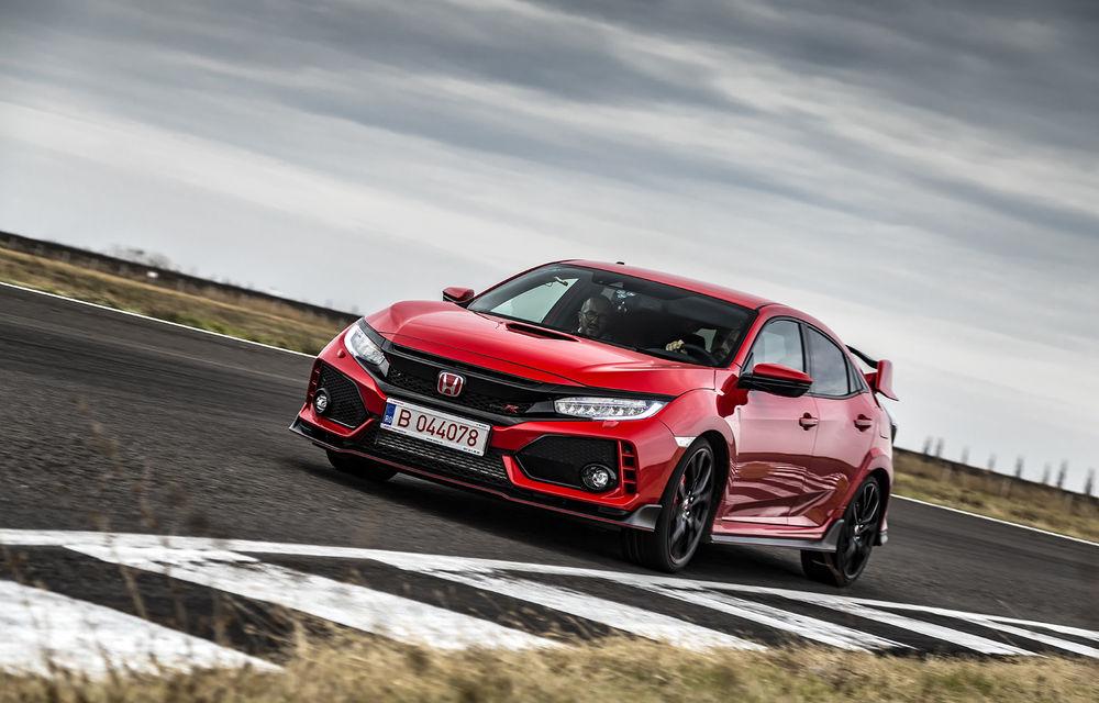 Prim contact cu modelele hardcore din gama Honda: pe circuit cu noul Civic Type R și cu supercar-ul NSX - Poza 1