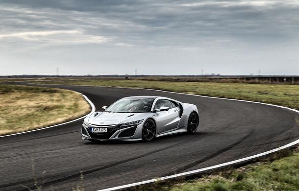 Prim contact cu modelele hardcore din gama Honda: pe circuit cu noul Civic Type R și cu supercar-ul NSX - Poza 20