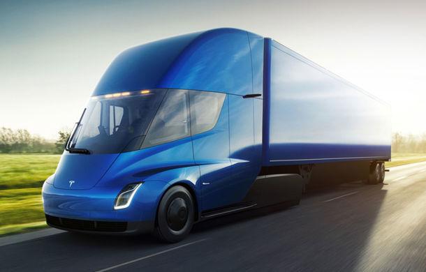 Tesla Semi: capul tractor pregătit de americani are o autonomie de peste 800 de kilometri și ajunge la 96 km/h în 5 secunde - Poza 1