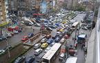 Orașul cu cel mai aglomerat trafic din Europa: 9 zile pe an pierd șoferii blocați în ambuteiajele din București