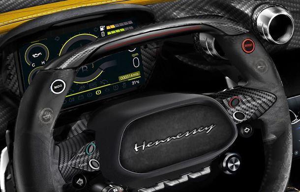 Hennessey Venom F5: primele poze cu interiorul hypercar-ului american care vrea să bată Bugatti Chiron - Poza 3