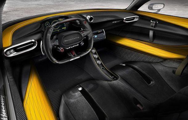Hennessey Venom F5: primele poze cu interiorul hypercar-ului american care vrea să bată Bugatti Chiron - Poza 1