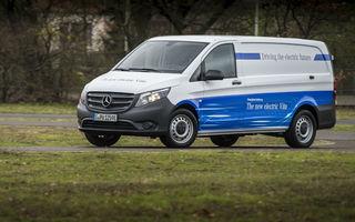Mercedes pregătește versiuni electrice pentru toate vehiculele comerciale: Mercedes eVito va avea autonomie de 150 de kilometri