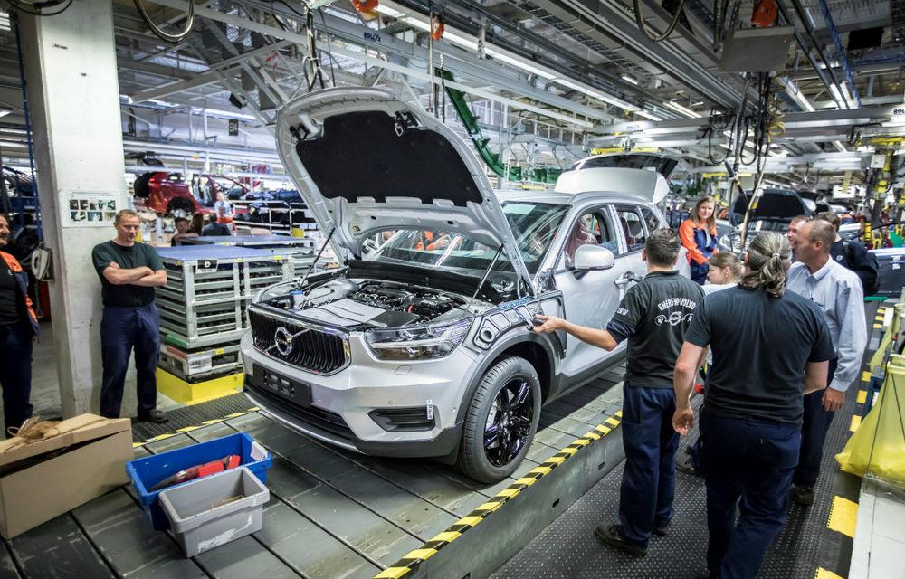 Volvo a demarat producția lui XC40: cel mai mic SUV al suedezilor este asamblat în Belgia - Poza 1