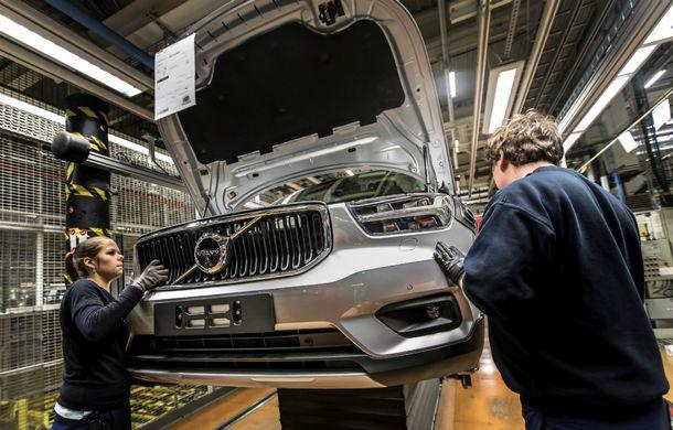 Volvo a demarat producția lui XC40: cel mai mic SUV al suedezilor este asamblat în Belgia - Poza 7