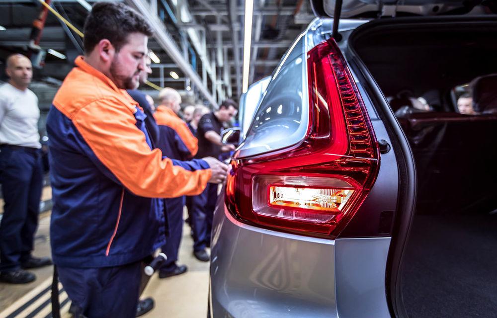 Volvo a demarat producția lui XC40: cel mai mic SUV al suedezilor este asamblat în Belgia - Poza 2