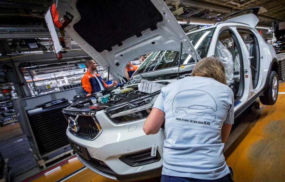 Volvo a demarat producția lui XC40: cel mai mic SUV al suedezilor este asamblat în Belgia - Poza 5