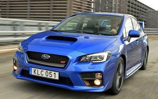 Subaru WRX STI, la final de drum: producția sedanului de performanță va fi oprită anul viitor în Europa