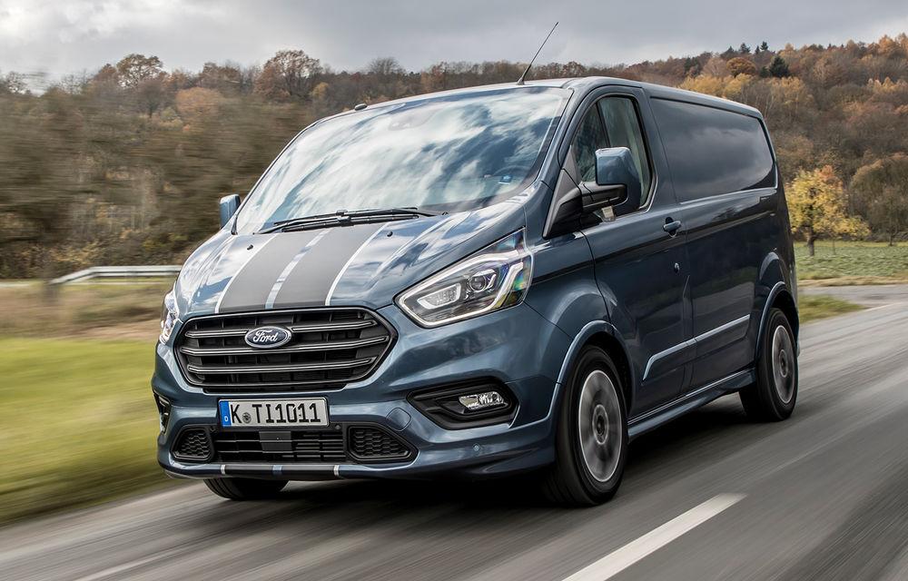 Ford a lansat noul Transit Custom facelift: 5 lucruri pe care trebuie să le știi despre utilitara Ford - Poza 1