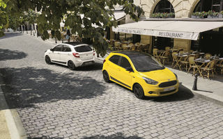 Ford Ka+ devine și mai atractiv: Colour Edition plusează cu șase nuanțe noi pentru caroserie