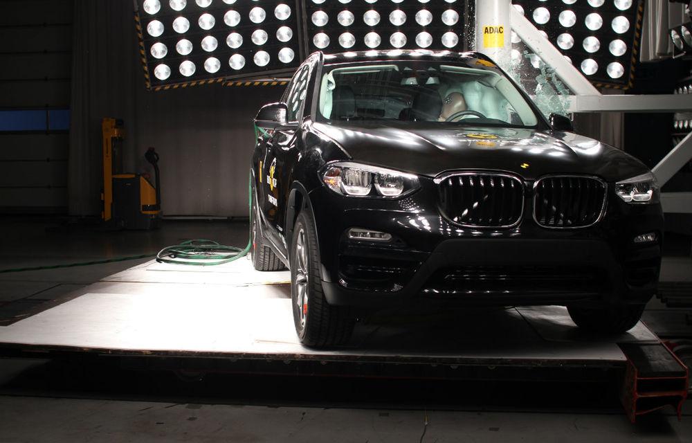 Teste de siguranță: 8 modele au primit 5 stele din partea Euro NCAP. Printre ele se numără BMW X3, Jaguar E-Pace, Mercedes-Benz Clasa X și Porsche Cayenne - Poza 12