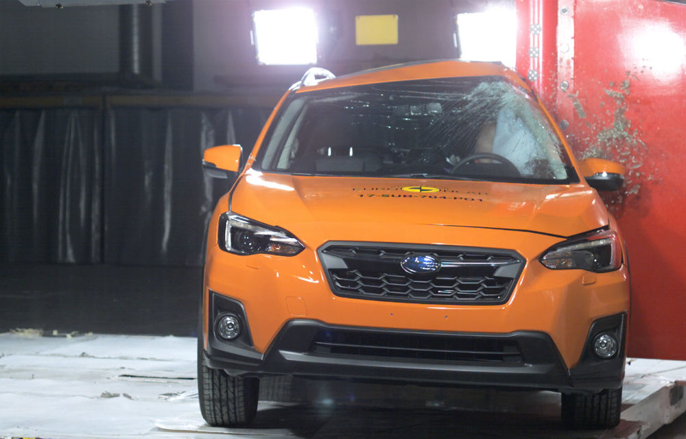 Teste de siguranță: 8 modele au primit 5 stele din partea Euro NCAP. Printre ele se numără BMW X3, Jaguar E-Pace, Mercedes-Benz Clasa X și Porsche Cayenne - Poza 18