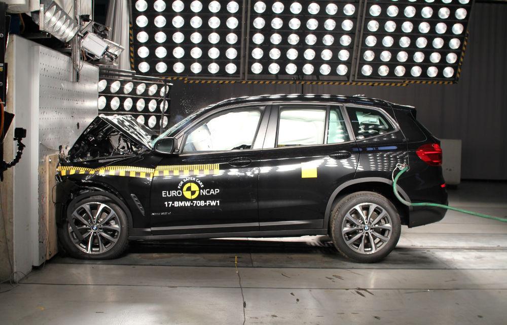 Teste de siguranță: 8 modele au primit 5 stele din partea Euro NCAP. Printre ele se numără BMW X3, Jaguar E-Pace, Mercedes-Benz Clasa X și Porsche Cayenne - Poza 13