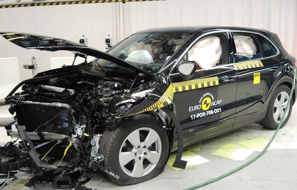 Teste de siguranță: 8 modele au primit 5 stele din partea Euro NCAP. Printre ele se numără BMW X3, Jaguar E-Pace, Mercedes-Benz Clasa X și Porsche Cayenne - Poza 3
