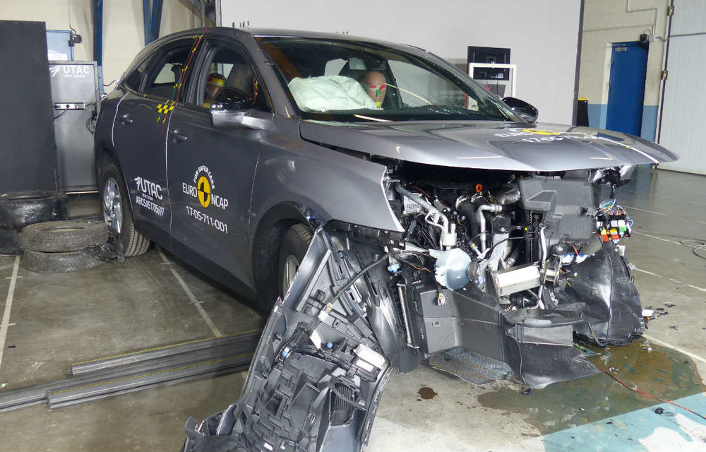 Teste de siguranță: 8 modele au primit 5 stele din partea Euro NCAP. Printre ele se numără BMW X3, Jaguar E-Pace, Mercedes-Benz Clasa X și Porsche Cayenne - Poza 8