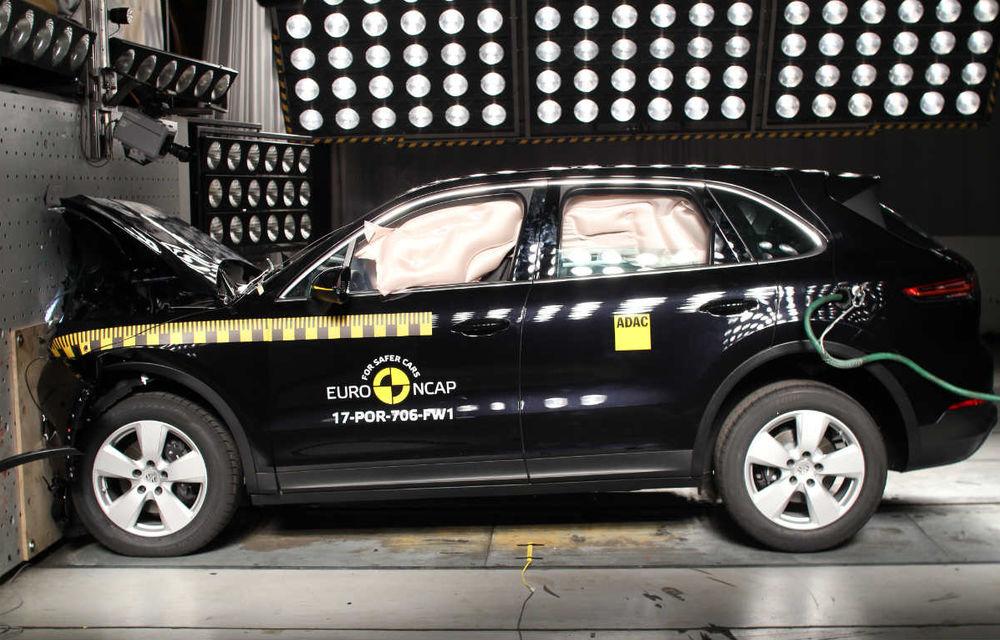 Teste de siguranță: 8 modele au primit 5 stele din partea Euro NCAP. Printre ele se numără BMW X3, Jaguar E-Pace, Mercedes-Benz Clasa X și Porsche Cayenne - Poza 2