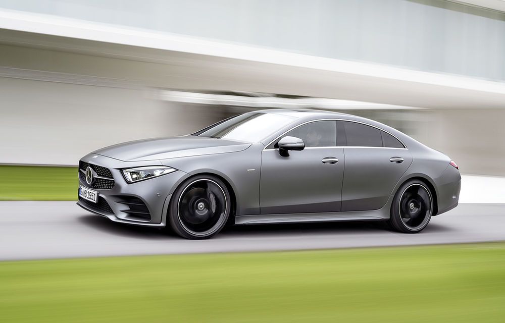 Acesta este noul Mercedes-Benz CLS: design frontal inedit și o armată de tehnologii în lista de opțiuni - Poza 1