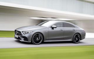 Acesta este noul Mercedes-Benz CLS: design frontal inedit și o armată de tehnologii în lista de opțiuni