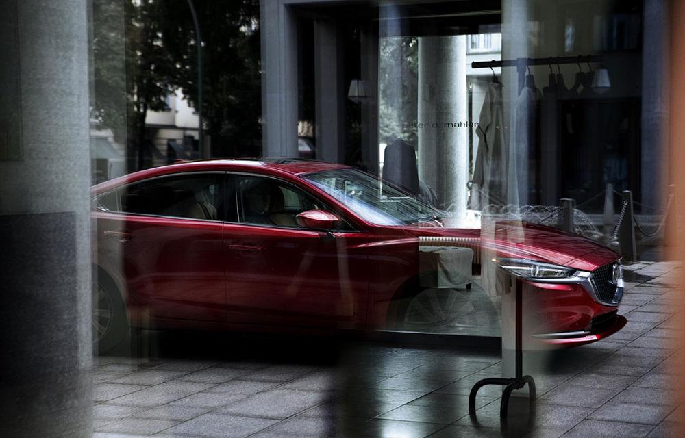 Mazda6 primește îmbunătățiri noi: design ușor revizuit și modificări în ceea ce privește comportamentul dinamic - Poza 6