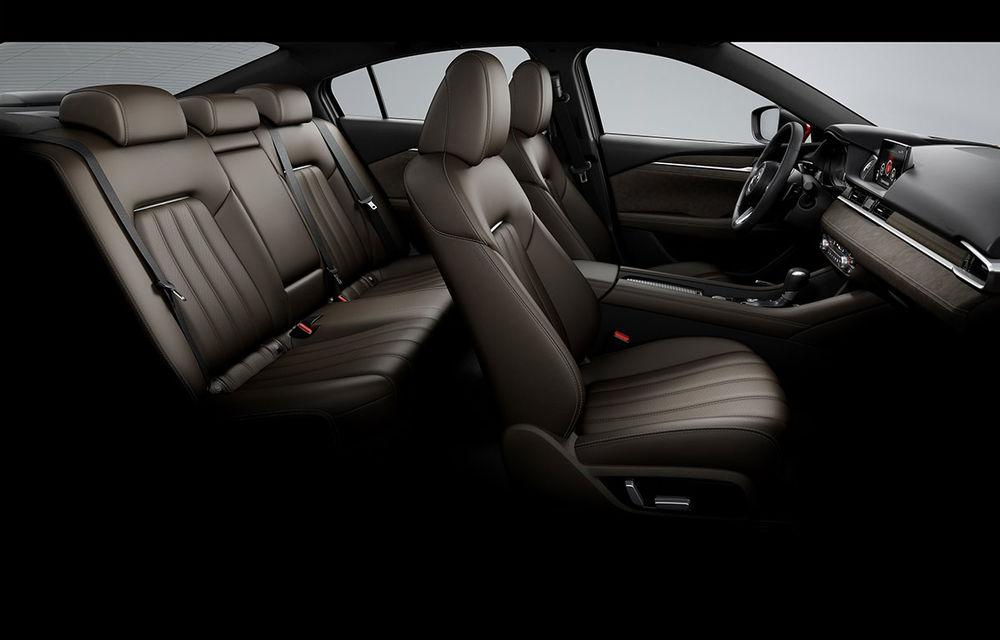 Mazda6 primește îmbunătățiri noi: design ușor revizuit și modificări în ceea ce privește comportamentul dinamic - Poza 20