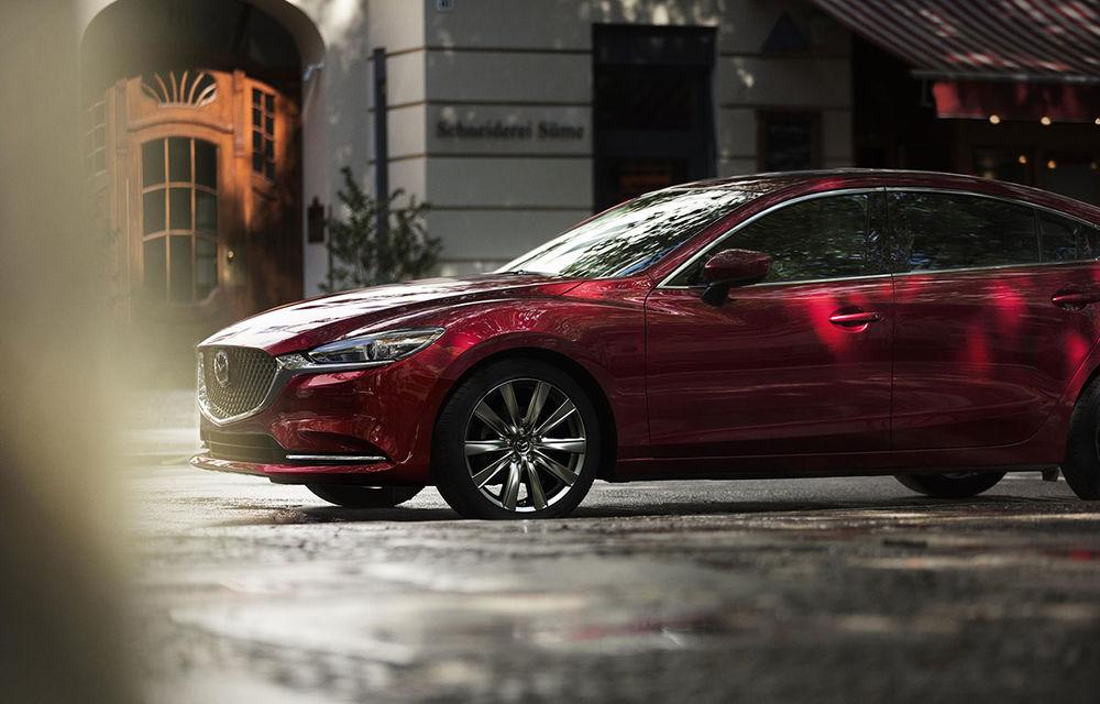 Mazda6 primește îmbunătățiri noi: design ușor revizuit și modificări în ceea ce privește comportamentul dinamic - Poza 9
