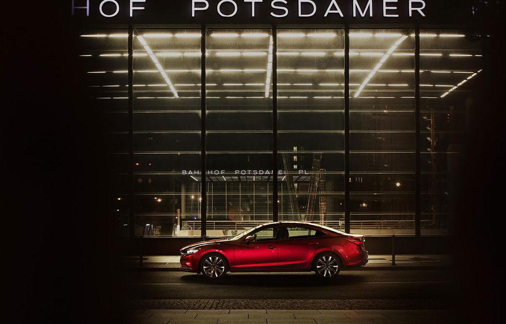 Mazda6 primește îmbunătățiri noi: design ușor revizuit și modificări în ceea ce privește comportamentul dinamic - Poza 8