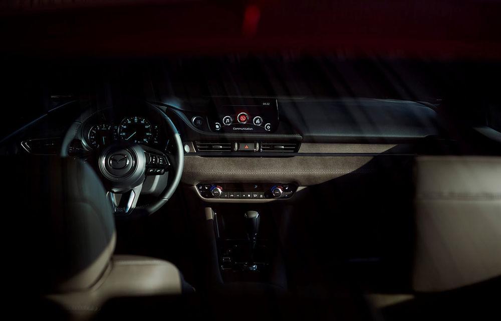 Mazda6 primește îmbunătățiri noi: design ușor revizuit și modificări în ceea ce privește comportamentul dinamic - Poza 12