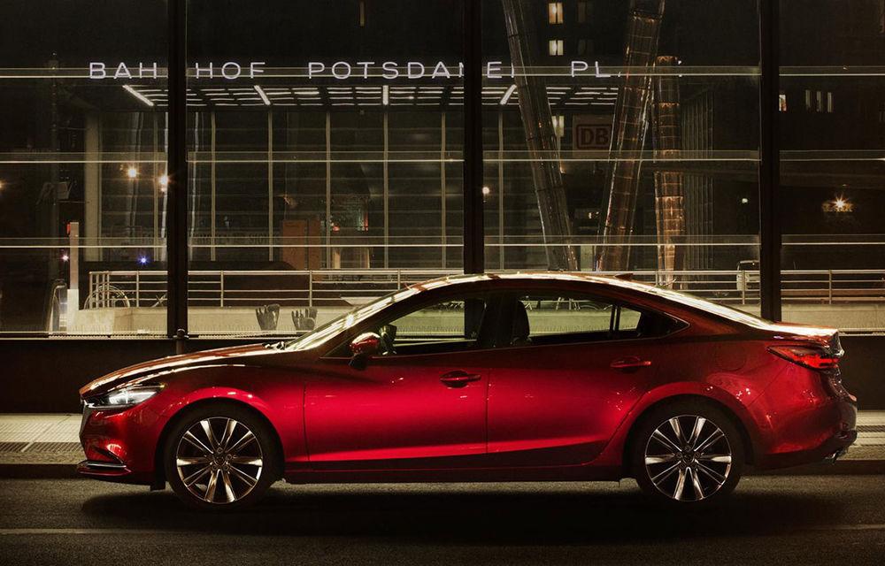 Mazda6 primește îmbunătățiri noi: design ușor revizuit și modificări în ceea ce privește comportamentul dinamic - Poza 7