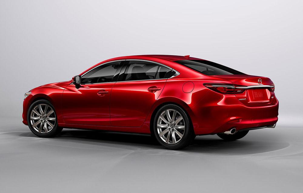 Mazda6 primește îmbunătățiri noi: design ușor revizuit și modificări în ceea ce privește comportamentul dinamic - Poza 3
