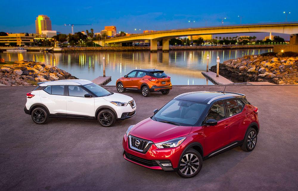 Nissan atacă segmentul SUV din SUA cu Kicks: tehnologii de ultimă generație și posibilități multiple de personalizare - Poza 1