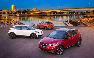 Nissan atacă segmentul SUV din SUA cu Kicks: tehnologii de ultimă generație și posibilități multiple de personalizare