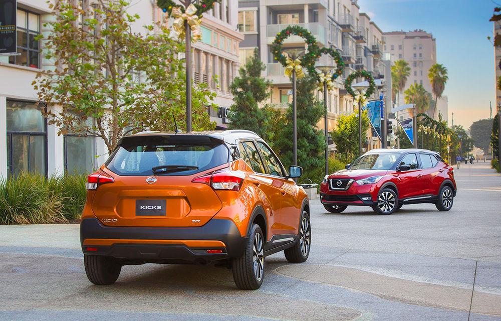 Nissan atacă segmentul SUV din SUA cu Kicks: tehnologii de ultimă generație și posibilități multiple de personalizare - Poza 4