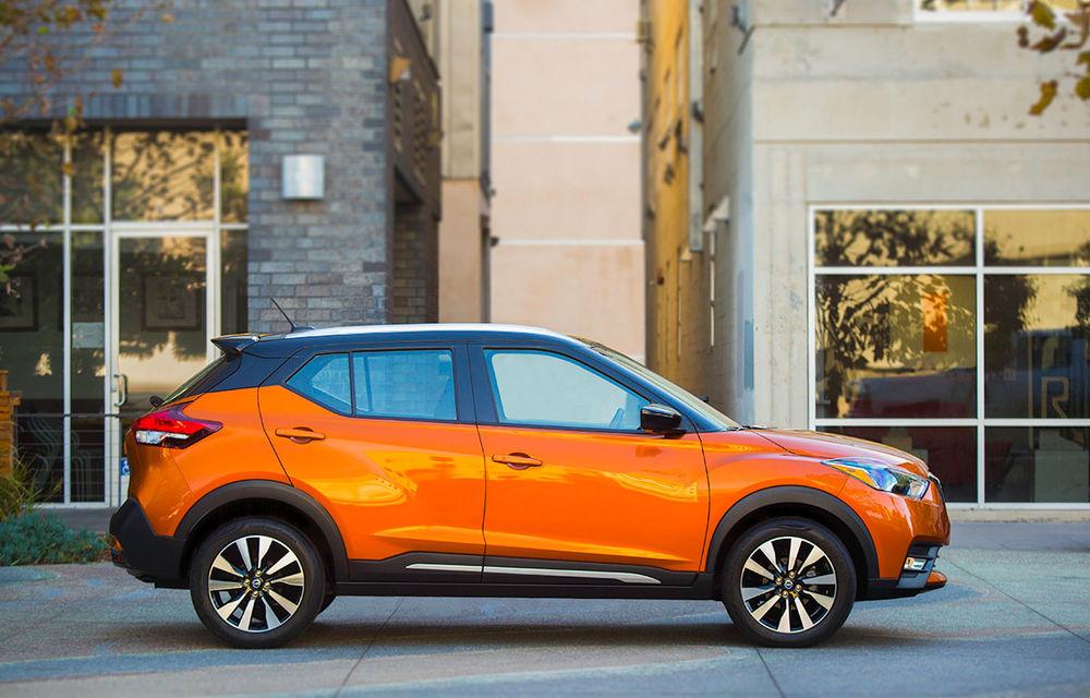 Nissan atacă segmentul SUV din SUA cu Kicks: tehnologii de ultimă generație și posibilități multiple de personalizare - Poza 3