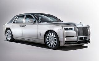 """Rolls-Royce va lansa o versiune electrică pentru Phantom: """"Nu ne interesează un model hibrid"""""""