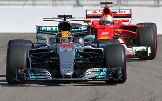 Noul regulament tehnic dăunează grav spectacolului: numărul depășirilor din Formula 1 a scăzut la jumătate în sezonul 2017